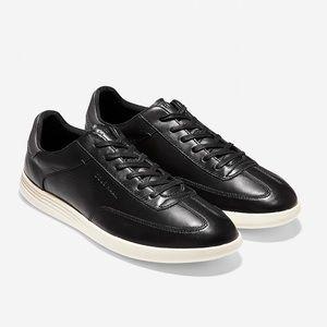 Cole Haan Men's Black Leather Sneaker